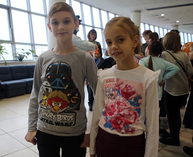 Варя малярчук и Никита Кульченко