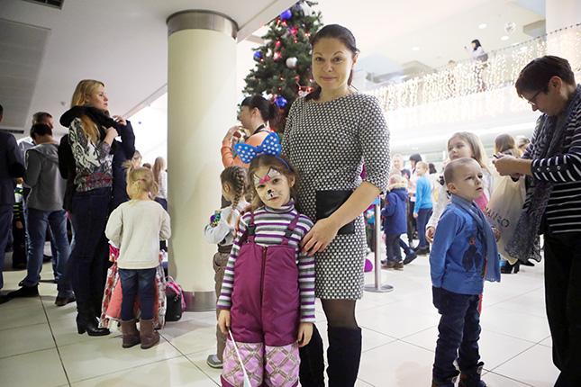 Татьяна МИЩЕНКО  с дочерью Викторией