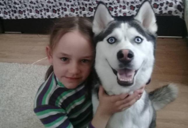 Настя и Симба