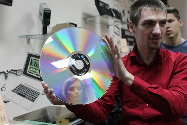 Видео-диск для магнитофона