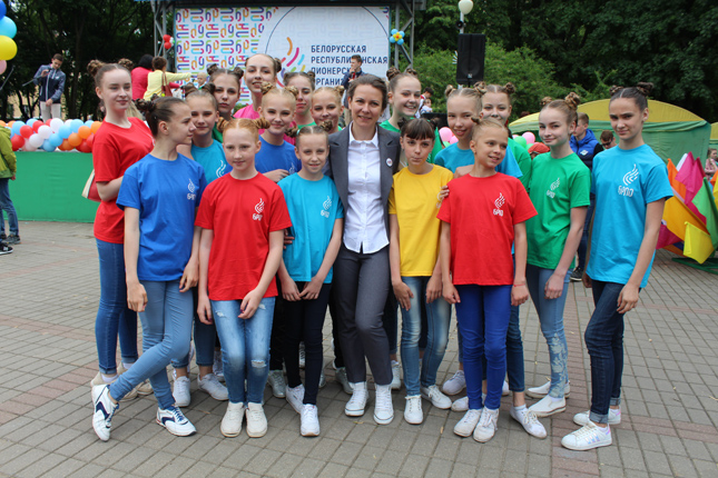С Александрой Гончаровой