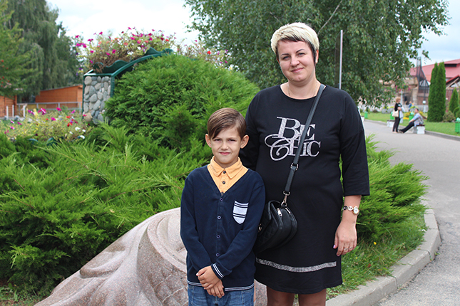 Ярослав с мамой