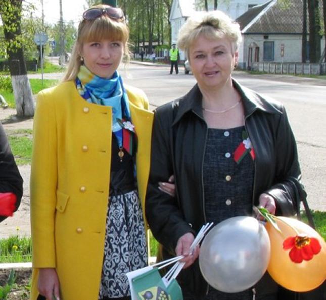 Ирина Васильевна и Олеся Владимировна