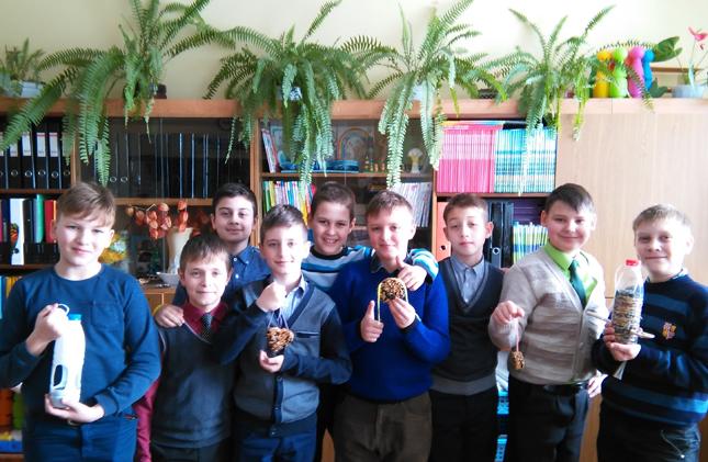 Дима Мартинков с одноклассниками