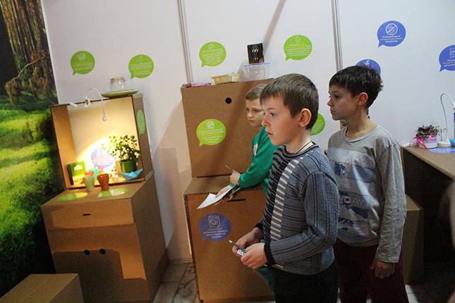 юнокры на выставке