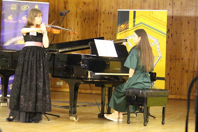 Скрипка и фортепиано