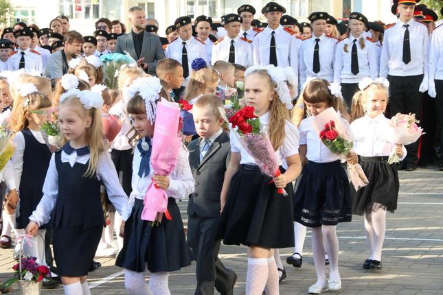 Воспитанники школы