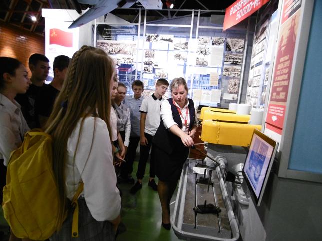 В музее МТЗ