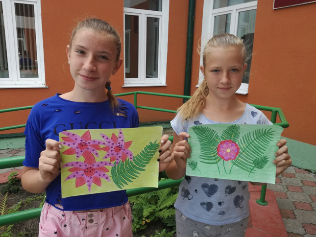 Ученицы Вересницкой школы