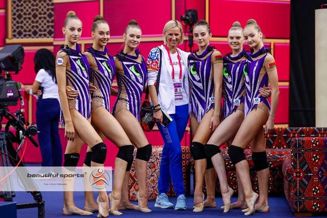 Белорусские гимнастки