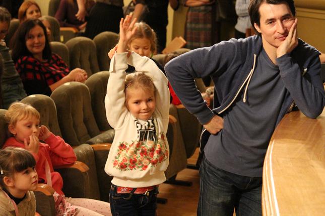 Юные театралы
